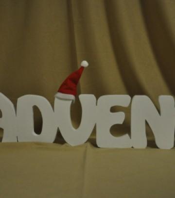 Schriftzug Advent