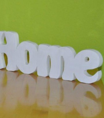 Schriftzug Sweet Home